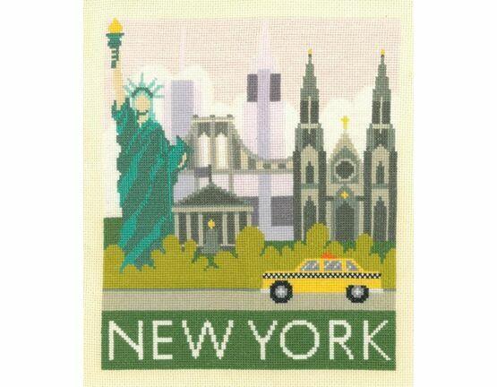 New York Cityscapes Cross Stitch Kit