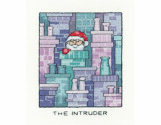 Santa Claus \'The Intruder\' Cross Stitch Kit