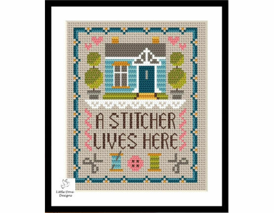 Home Of A Stitcher Cross Stitch Kit