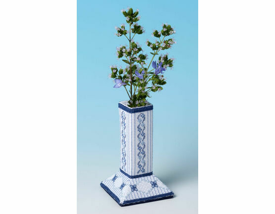 Lapis Lazuli Caddy 3D Cross Stitch Kit