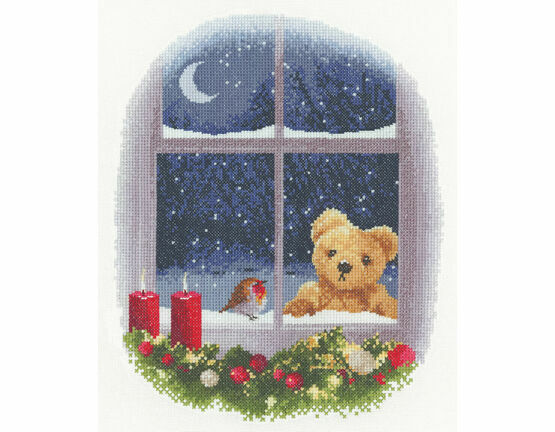 William And Robin Cross Stitch Kit
