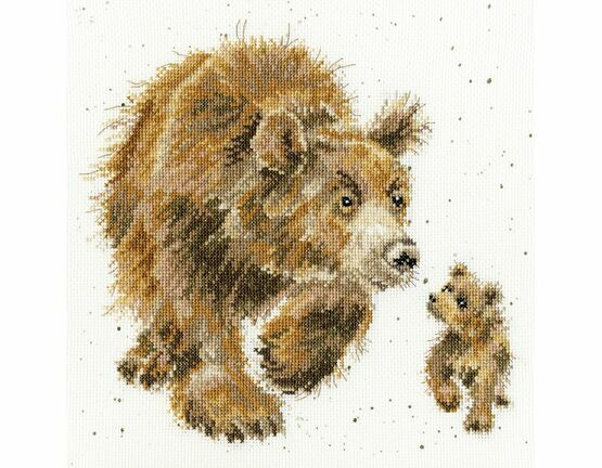 In My Footsteps Cross Stitch Kit