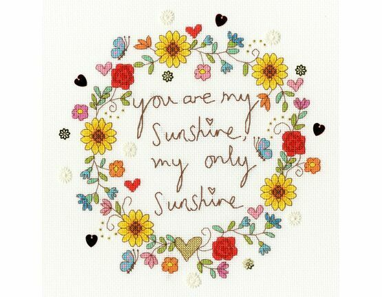 Love Sunshine Cross Stitch Kit
