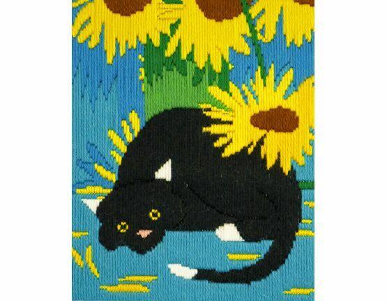 Socks The Cat Long Stitch Kit