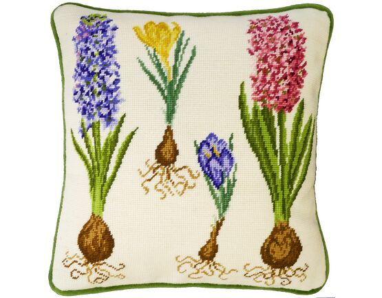 Hyacinth And Crocus Tapestry Panel Kit