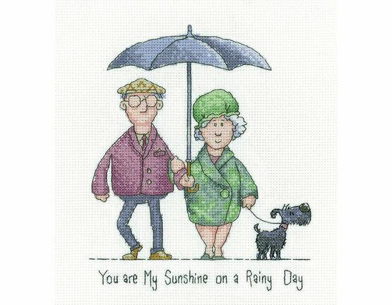 My Sunshine Cross Stitch Kit