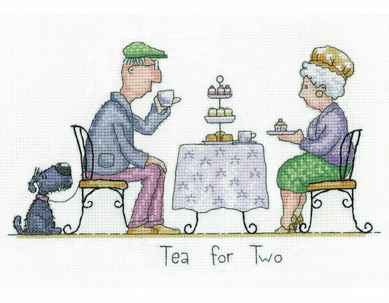 Tea For Two Cross Stitch Kit
