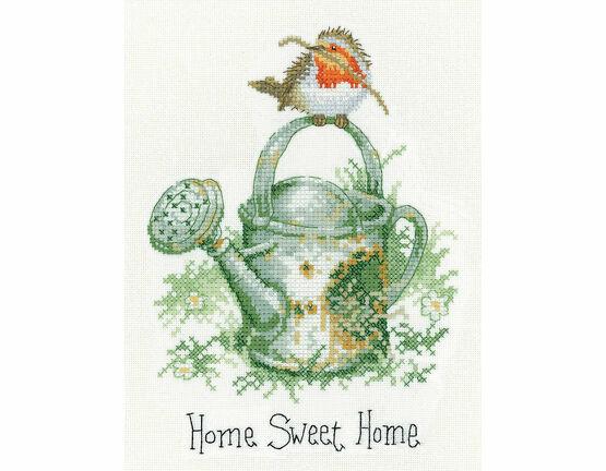 Home Sweet Home Robin Cross Stitch Kit