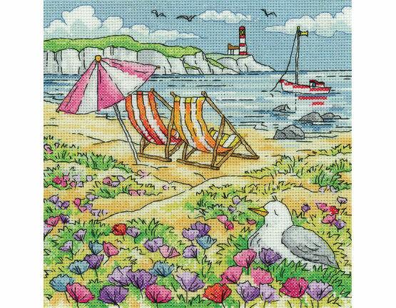 Summer Shore Cross Stitch Kit