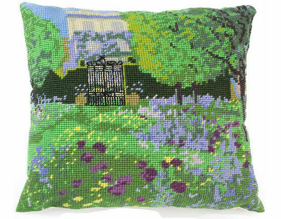 Highgrove House & Wildflower Meadow Herb Pillow Tapestry Kit