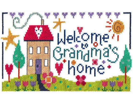Grandma\'s Home Cross Stitch Kit