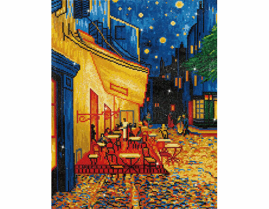 Cafe At Night (Van Gogh) Diamond Dotz Kit
