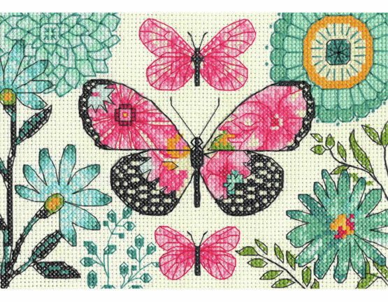 Butterfly Dream Cross Stitch Kit