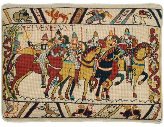 Hastings - William Rides To War Cushion Panel Needlepoint Kit
