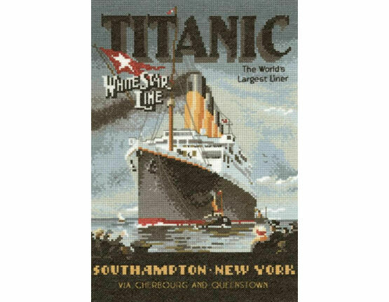 Titanic Cross Stitch Chart