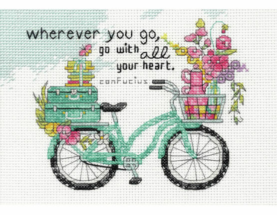 Wherever You Go Cross Stitch Kit