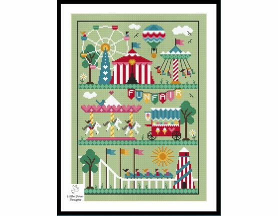 All The Fun Of The Fair Cross Stitch Kit
