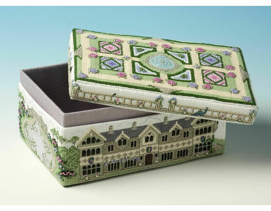 Country House Box 3D Cross Stitch Kit