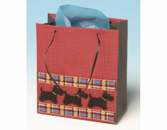 Doggy Gift Bag 3D Cross Stitch Kit