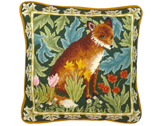 Woodland Fox Tapestry Panel Kit