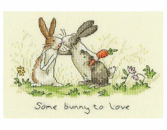 Some Bunny To Love Cross Stitch Kit