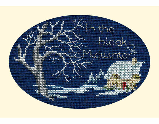 Midwinter Cross Stitch Christmas Card Kit