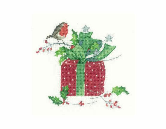 Christmas Gift Cross Stitch Kit
