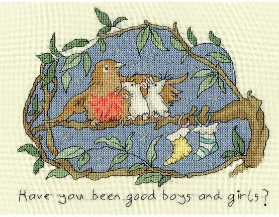 Have You Been Good? Cross Stitch Kit