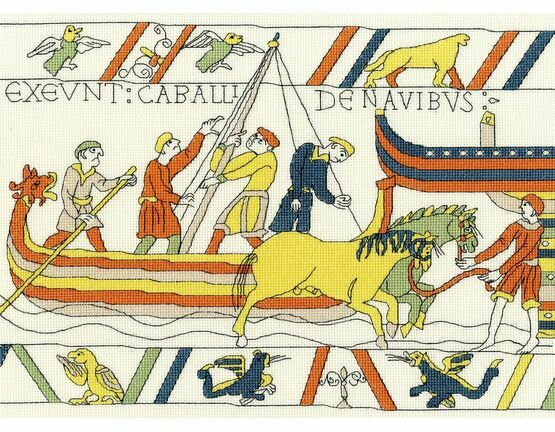 Bayeux Tapestry: The Normans\' Landing Cross Stitch Kit