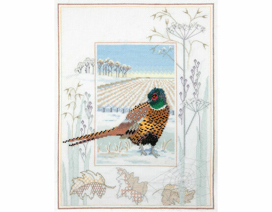 Wildlife - Pheasant Cross Stitch Kit
