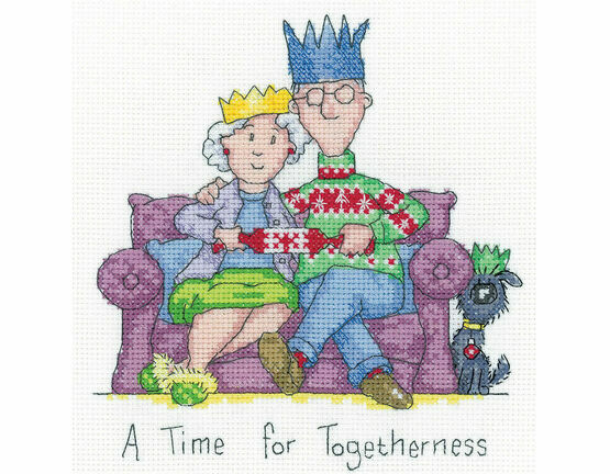 Togetherness Cross Stitch Kit