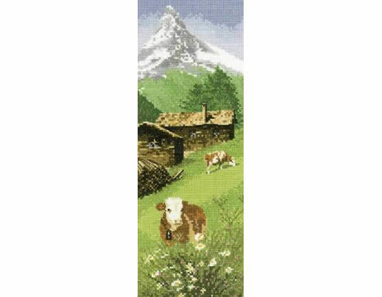 Alpine Meadow Cross Stitch Kit