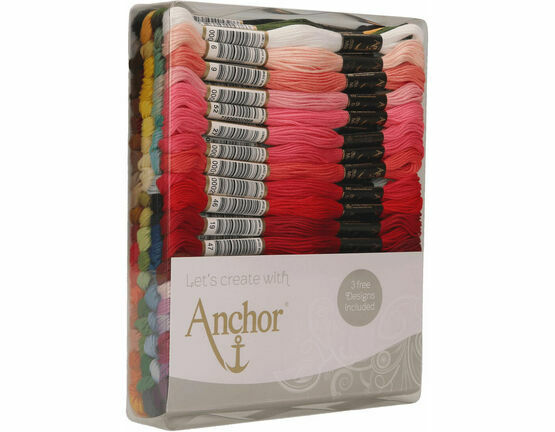 Anchor Stranded Cotton Thread - 80 Skeins Excellence Assortment