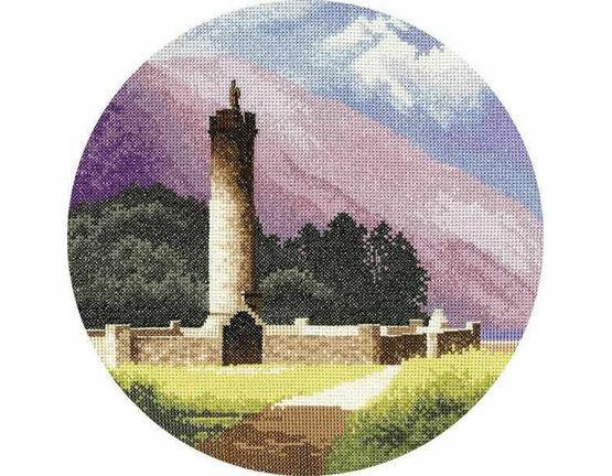 Bonnie Prince Charlie\'s Monument Cross Stitch Kit