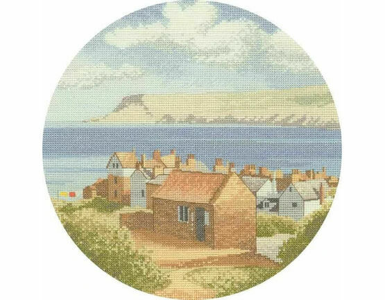 Coastal Village Cross Stitch Kit