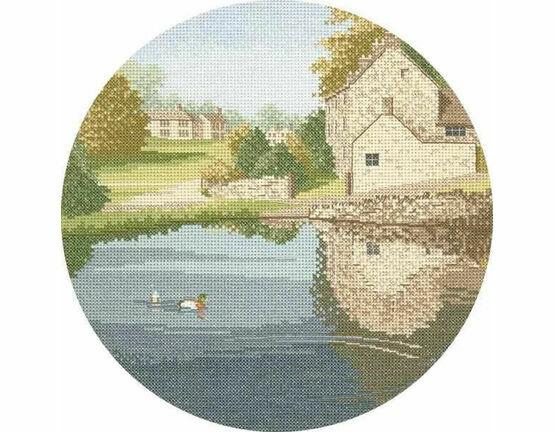 Duck Pond Cross Stitch Kit