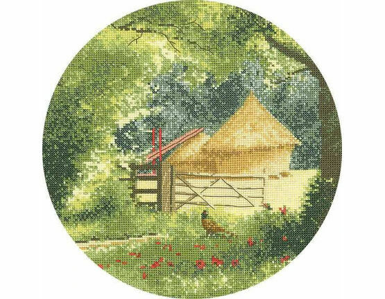 Haystacks Cross Stitch Kit