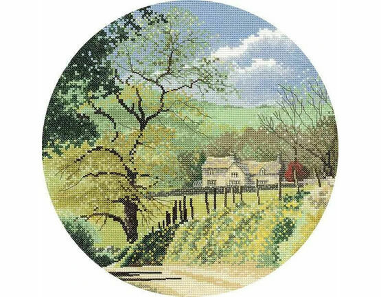Primrose Bank Cross Stitch Kit