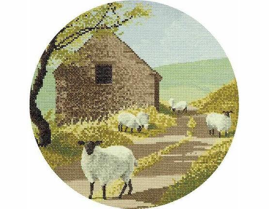 Sheep Track Cross Stitch Kit