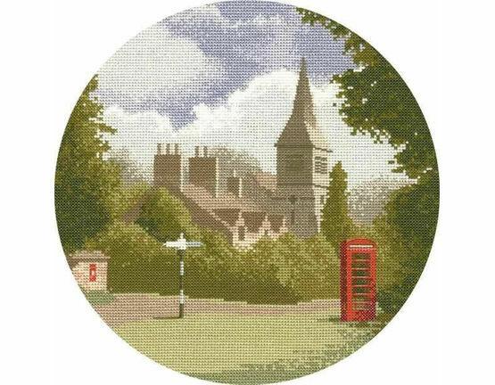Village Green Cross Stitch Kit