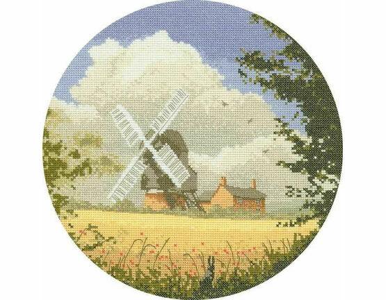 Corn Mill Cross Stitch Kit