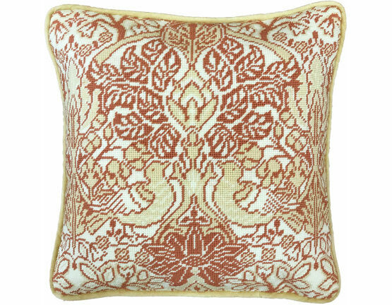 Dove And Rose Cushion Panel Tapestry Kit