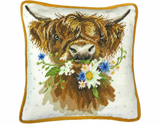 Daisy Coo Cushion Panel Tapestry Kit