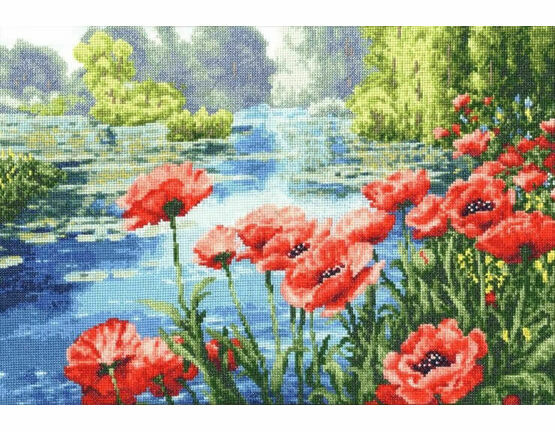 Summer Colours Cross Stitch Kit