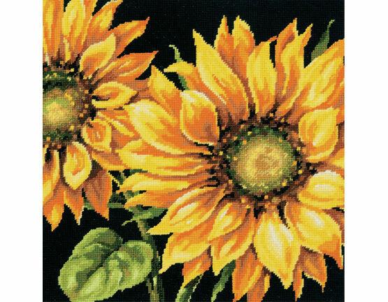 Dramatic Sunflower Tapestry Kit