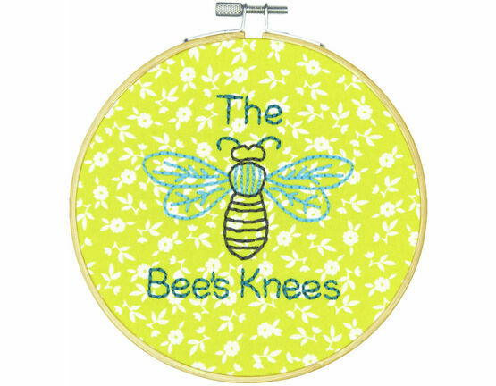 The Bees Knees Embroidery Hoop Kit