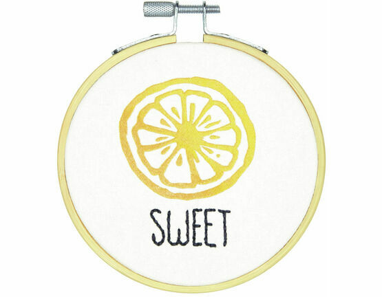 Sweet Embroidery Hoop Kit