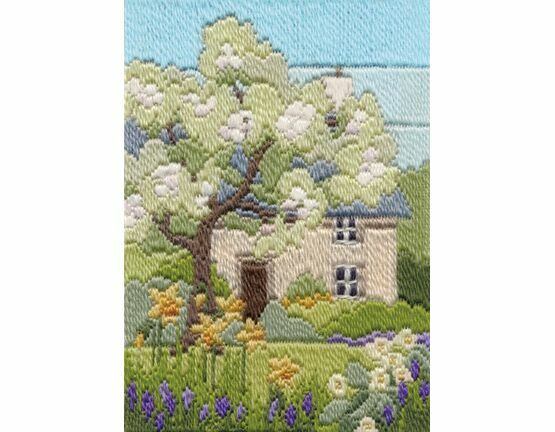 Spring Garden Long Stitch Kit