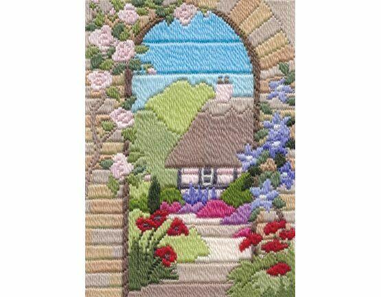 Summer Garden Long Stitch Kit