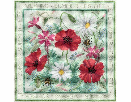 Four Seasons Summer Cross Stitch Kit